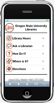 Mobile Lib on the iPhone