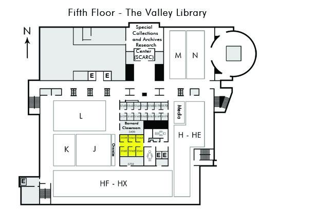 Osu Valley Lobrary Reserve Study Room