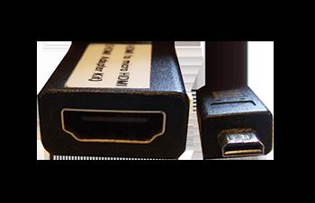 HDMI to micro HDMI adapter