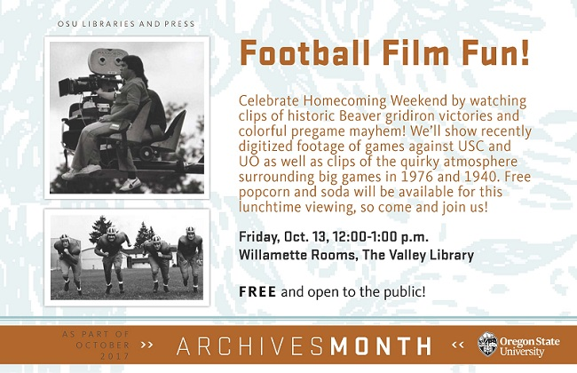 Archives month events
