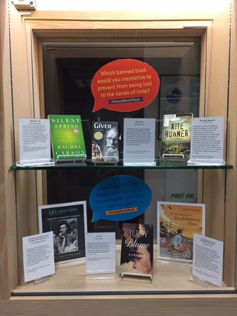 Banned book display 2