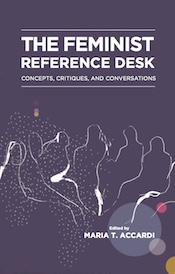 The cover of The Feminist Reference Desk