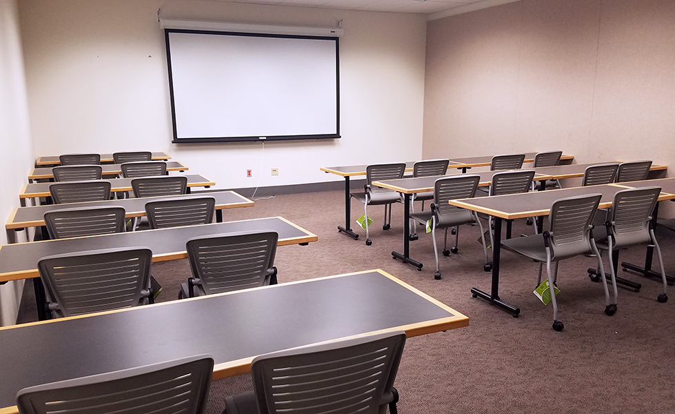 Grad Commons room