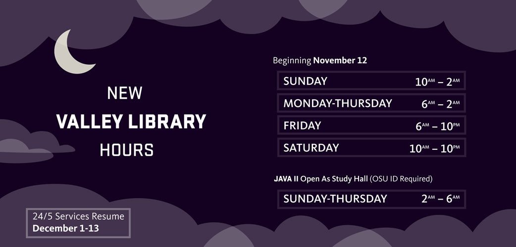 Library Hours Change