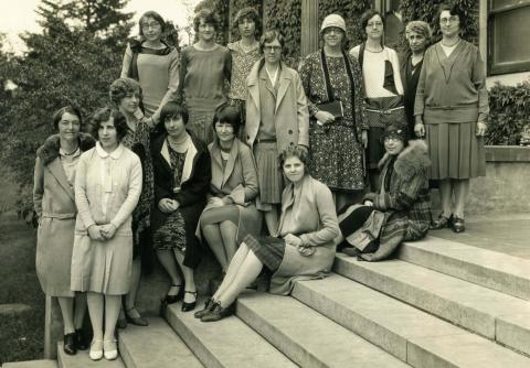 Library Staff from 1929
