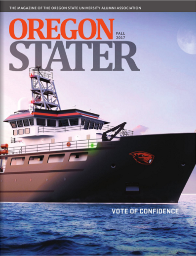 Cover of the Oregon Stater