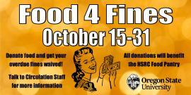 Food for fines promotion image