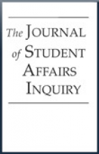 Student Affairs Journal cover image