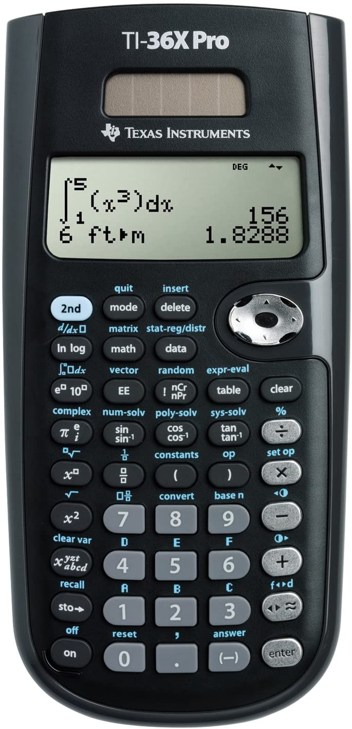 TI-36X Pro calculator