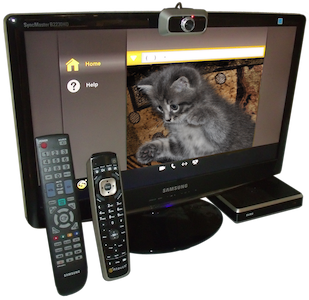 Video caller screen with remotes
